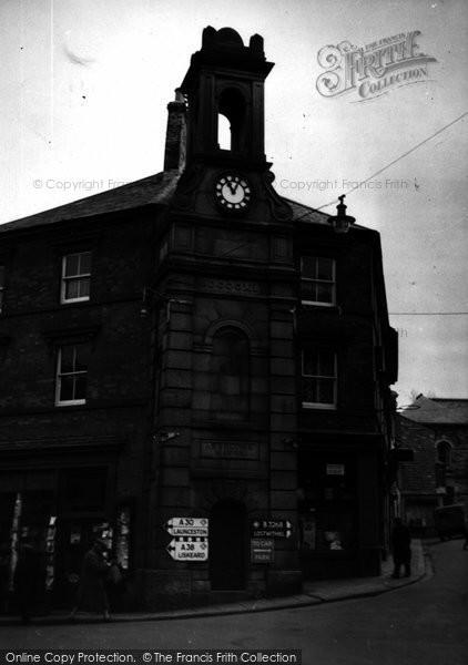 Bodmin, The Town Clock c.1955