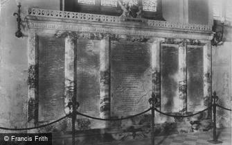 Bodmin, the War Memorial 1906
