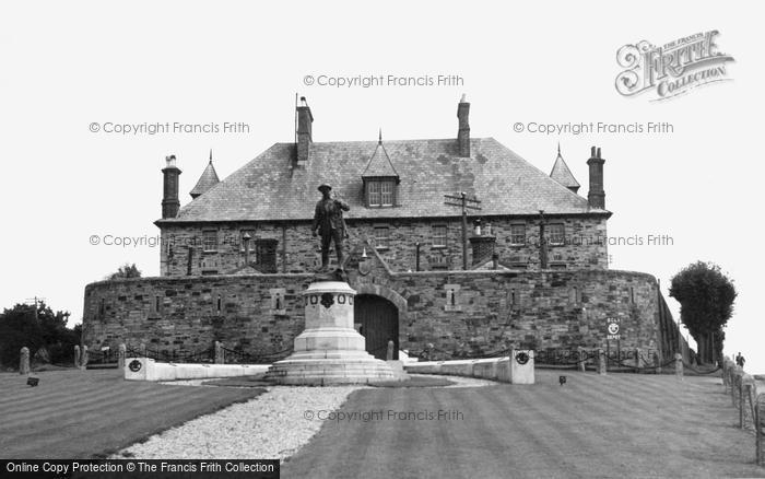 Bodmin, The War Memorial And Depot c.1955