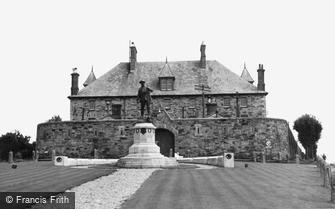Bodmin, the War Memorial and Depot c1955