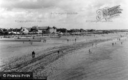 Beach And Promenade c.1955, Bognor Regis