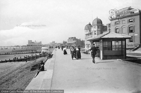 Bognor Regis, East Parade And The Kursaal 1911