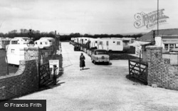 Bognor Regis, Entrance To Boulevard Estate c.1955