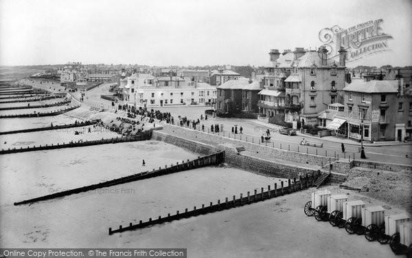 Bognor Regis, From The Pier Looking West 1914