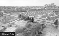 Bognor Regis, General View Of Boulevard Estate c.1955