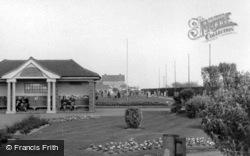 Marine Gardens And Putting Green c.1955, Bognor Regis
