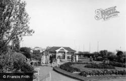 Bognor Regis, Marine Gardens c.1955
