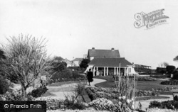 Bognor Regis, Marine Gardens Looking East c.1955