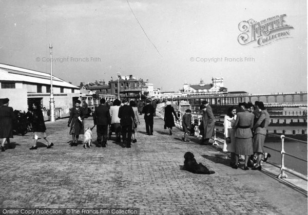 Bognor Regis, Promenade And Pierhead c.1950