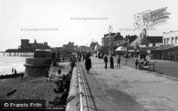 Promenade From East c.1950, Bognor Regis