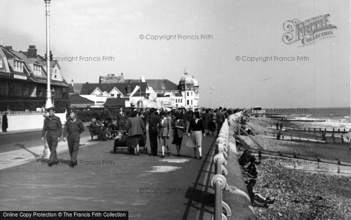 Photo of Bognor Regis, Promenade From The Pier c.1950