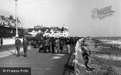 Bognor Regis, Promenade From The Pier c.1950