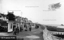 Promenade From West c.1955, Bognor Regis