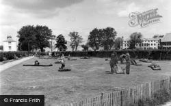 Bognor Regis, Putting Green, Waterloo Gardens c.1955