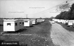 Riverside Caravan Site c.1955, Bognor Regis