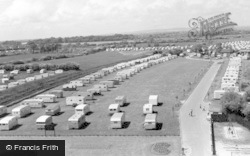 Bognor Regis, Riverside Caravan Site c.1960