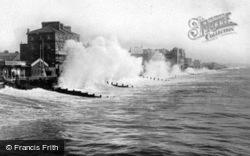 Rough Sea c.1930, Bognor Regis