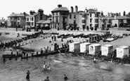 Bognor Regis, The Beach 1890