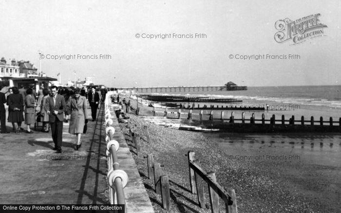 Photo of Bognor Regis, The Beach c.1950