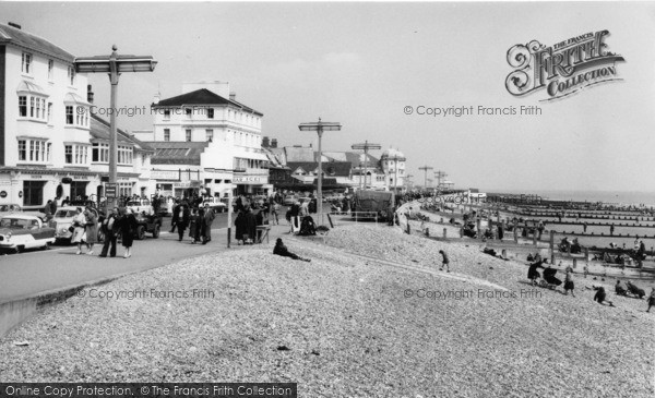 Photo of Bognor Regis, the Beach c1960