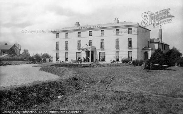 Photo of Bognor Regis, The Norfolk Hotel 1890