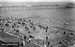 The Pier And Sands c.1930, Bognor Regis
