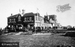 The Pier From Waterloo Square c.1930, Bognor Regis