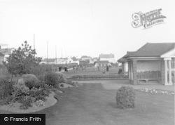Bognor Regis, The Putting Green, Marine Gardens c.1950