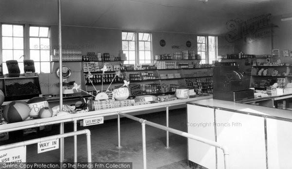 Bognor Regis, The Stores, Riverside Caravan Site c.1955