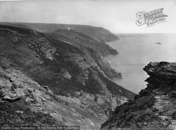 Bolberry, The Cliffs 1927