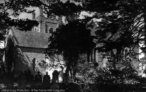 Bolingey, St Piran's Church c.1955