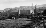 Bollington, Clarence Mill c.1960