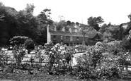 Bollington, Memorial Gardens c.1955