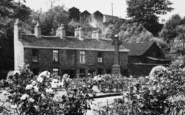 Bollington, Memorial Gardens, The Cross c.1955