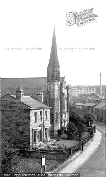 Bollington, Methodist Church c.1955