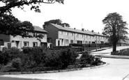 Bollington, Princess Drive c.1955