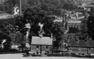 Bollington, View From White Nancy c.1955