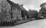 Bolney, Bolney Lodge Cottages c.1955