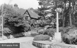 Memorial Corner c.1955, Bolney