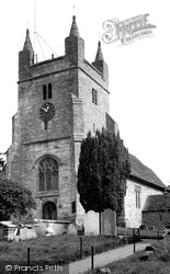 St Mary Magdalene Church c.1955, Bolney