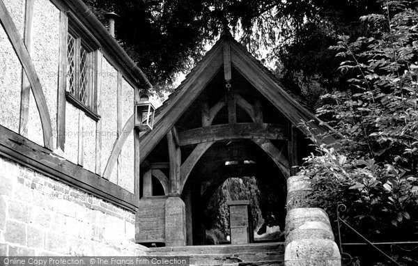 Bolney, The Lych Gate c.1955