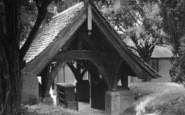 Bolney, The Lychgate c.1955