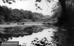 The Old Mill Ponds c.1960, Bolney