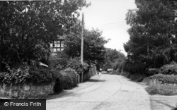 Bolney, The Street c.1955