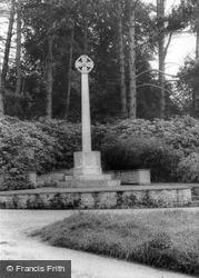 The War Memorial c.1960, Bolney