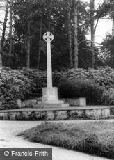 Bolney, the War Memorial c1960