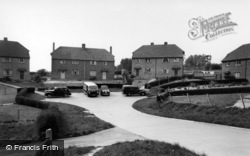 Tythe Barn Estate c.1960, Bolney
