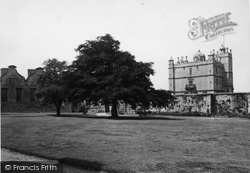 Bolsover, Castle, Outer Court c.1955