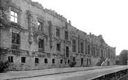 Bolsover, Castle, Terrace Front c1955