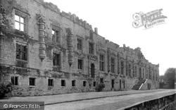 Bolsover, Castle, Terrace Front c.1955